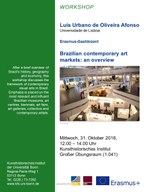 "Workshop: ""Brazilian contemporary art markets: an overview"""